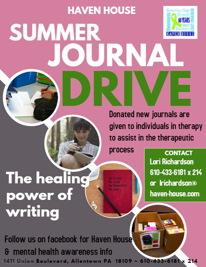 Summer Journal Drive 2018